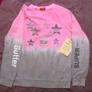 Girls large Butter Vintage Sweatshirt - NWT